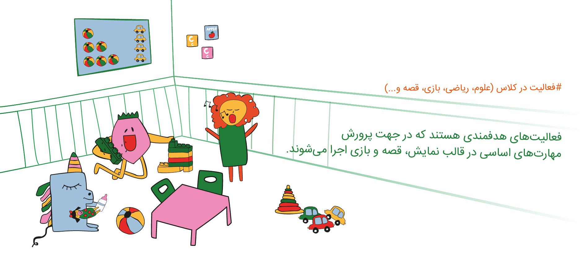 فعالیت ها و مهارت های اساسی برای کودکان در مهرآیین